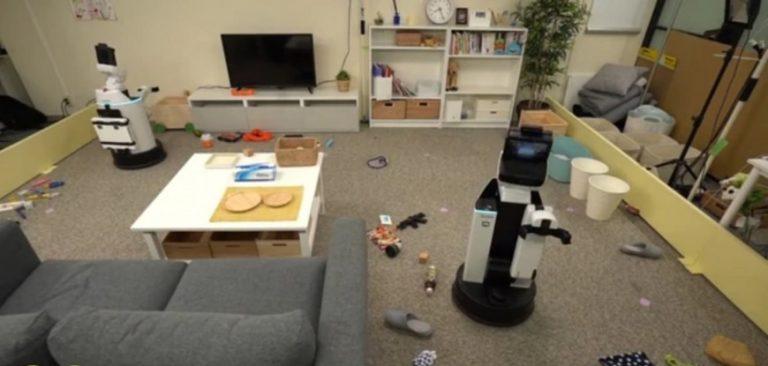 Crearon un robot que ordena el hogar: levanta las cosas que están tiradas en el piso y las pone en su lugar