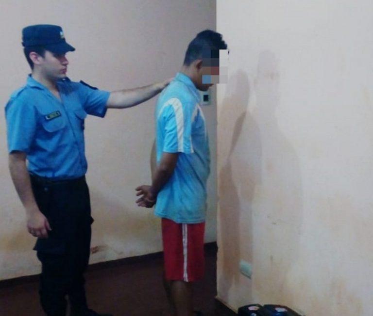 Detuvieron a un hombre implicado en 2 robos en Posadas