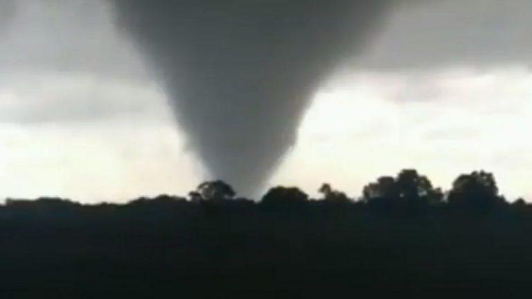 Un tornado azotó este lunes al Norte de Santa Fe