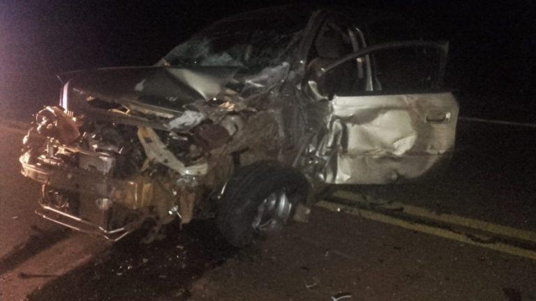 San Vicente: automovilista ebrio chocó contra un camión y terminó tras las rejas