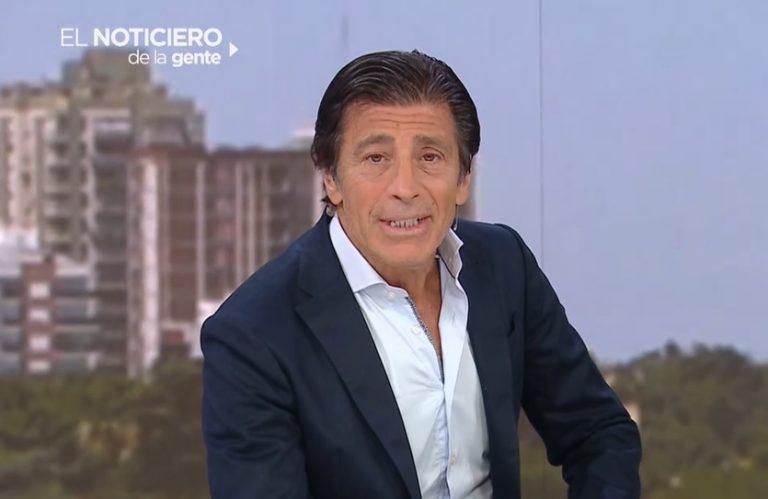 Nicolás Repetto se despidió de El noticiero de la gente