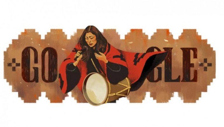 Google homenajea a Mercedes Sosa a 54 años de su primera actuación en el Festival de Cosquín