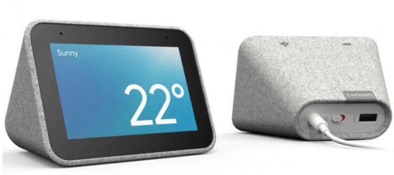 Presentaron un reloj despertador con pantalla táctil y el asistente de Google integrado
