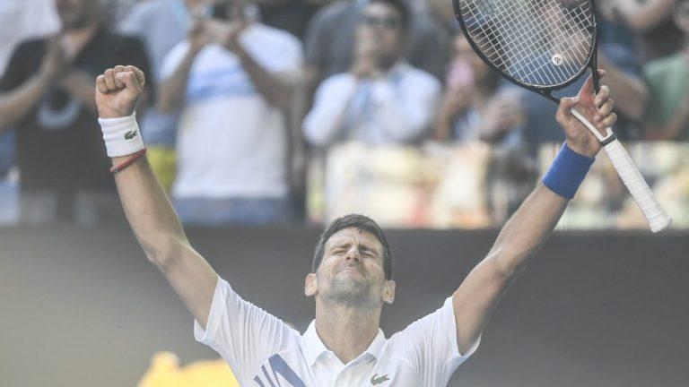 Tenis: Djokovic es finalista del Abierto de Australia