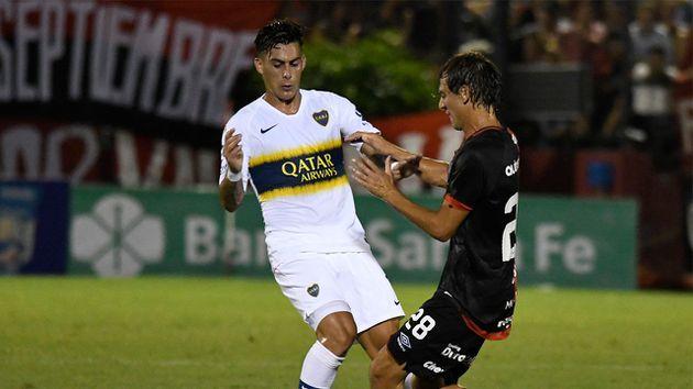 Superliga: en Rosario y con un gol de Benedetto, Boca empató ante Newell's