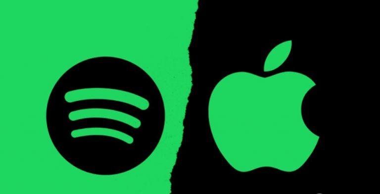 Competencia desleal: Spotify presentó una demanda contra Apple