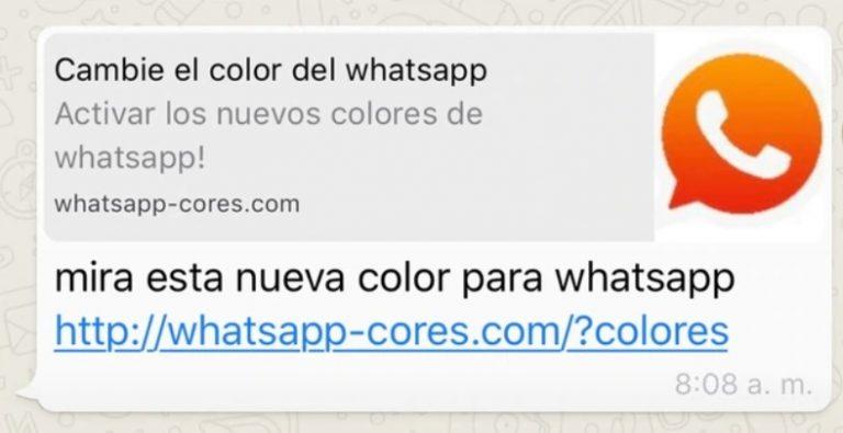 El nuevo engaño que circula por Whatsapp