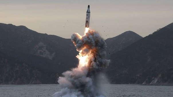 Corea del Norte desafía a Estados Unidos: lanzó misiles de corto alcance
