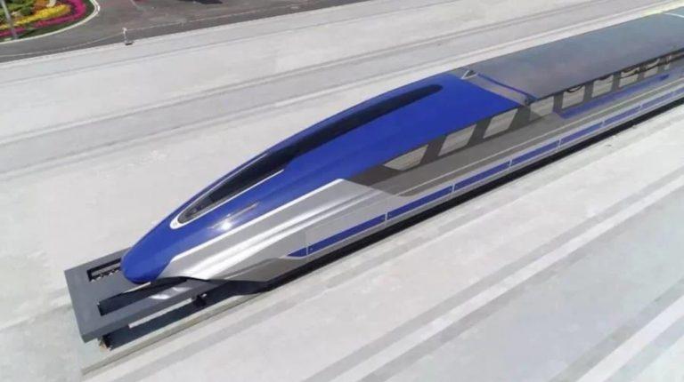 China desarrolla un tren de levitación magnética que podrá viajar a 600 km/h