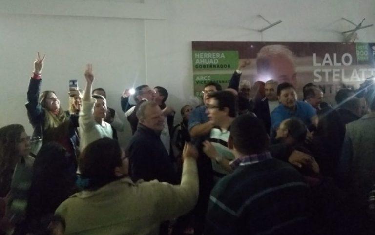 """#Elecciones2019: en el búnker de """"Lalo"""" Stelatto se adjudican la victoria en Posadas"""
