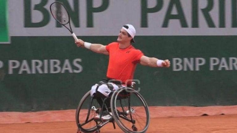 Tenis Adaptado: Gustavo Fernández es finalista en Roland Garros