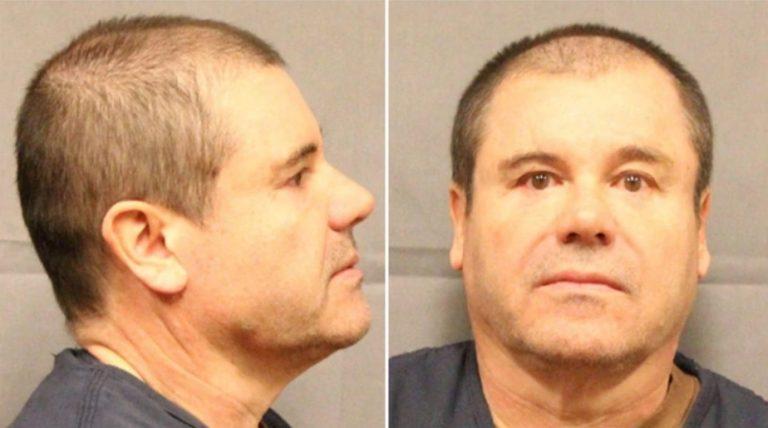 "EEUU: sentenciaron a cadena perpetua a Joaquín ""El Chapo"" Guzmán"
