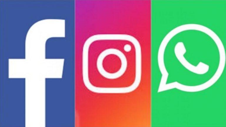 Facebook emitió un comunicado oficial sobre la caída de servicios de Instagram y WhatsApp