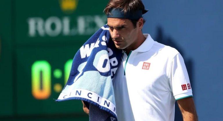Sorpresa en el Masters 1000 de Cincinnati: el ruso Rublev eliminó a Federer en octavos
