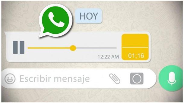 WhatsApp: el truco para enviar mensajes de voz y que lleguen con formato de texto