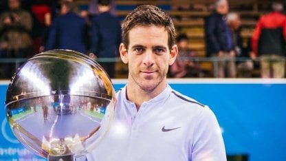 Tenis: Del Potro confirmó que volverá a jugar en el ATP de Estocolmo