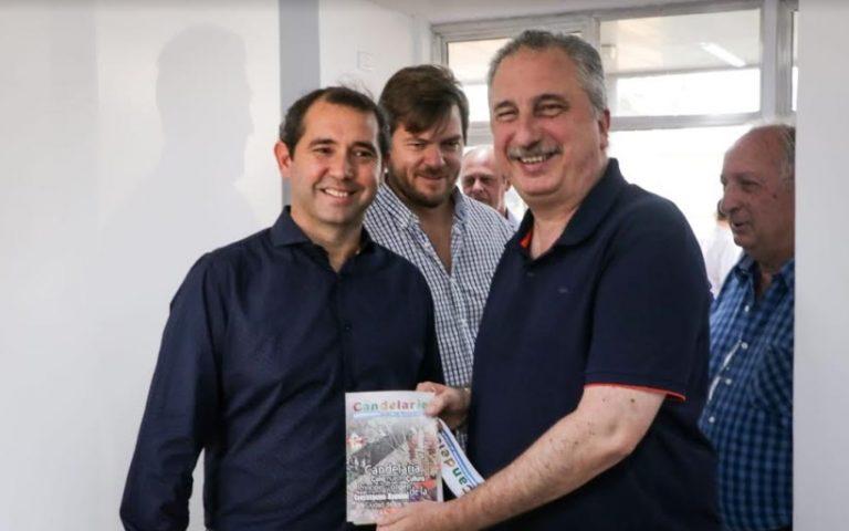 El Gobernador inauguró la nueva terminal de ómnibus de Candelaria