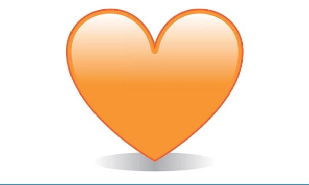 WhatsApp: el significado sexual que esconde el corazón naranja del mensajero