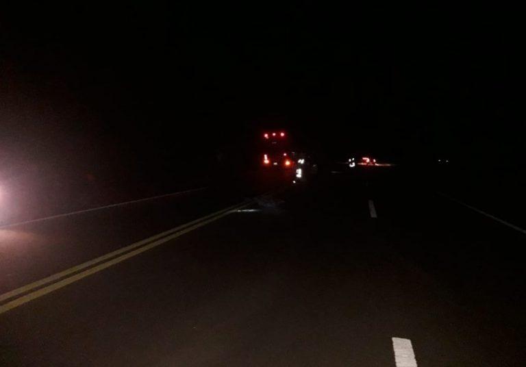 Cerro Azul: un hombre perdió la vida al ser embestido por un ómnibus sobre ruta 14