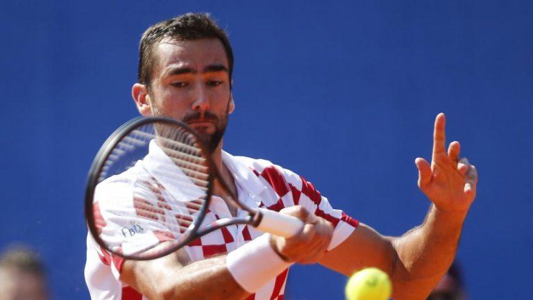 Marin Cilic anunció que no representará a Croacia en la Copa Davis
