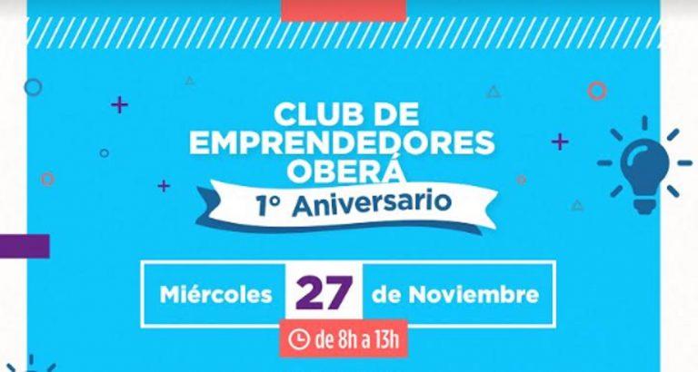 El Club de Emprendedores de Oberá cumple su primer año de trabajo