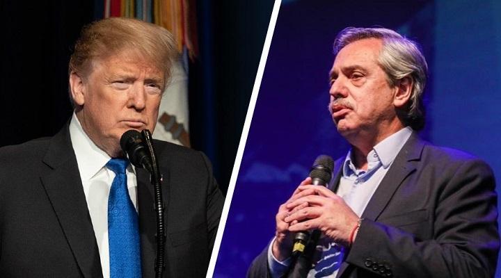 Fernández contó detalles de su diálogo con Donald Trump