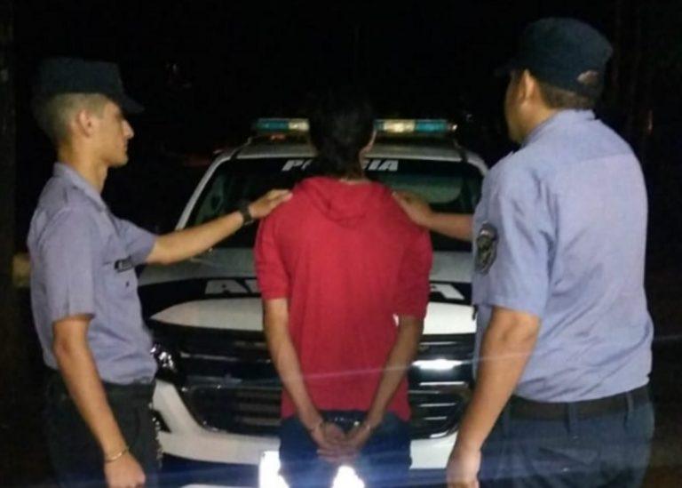 Posadas: un violento cayó detenido tras amenazar a su concubina e hijos