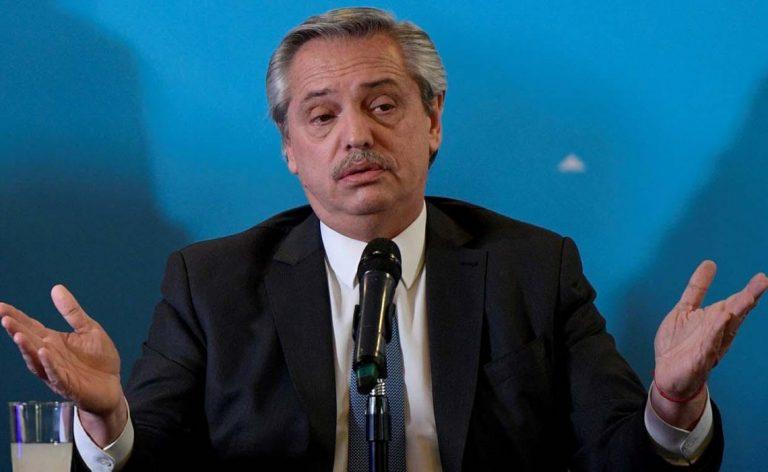 """Fernández y la emergencia económica: """"No es una ley de ajuste"""""""