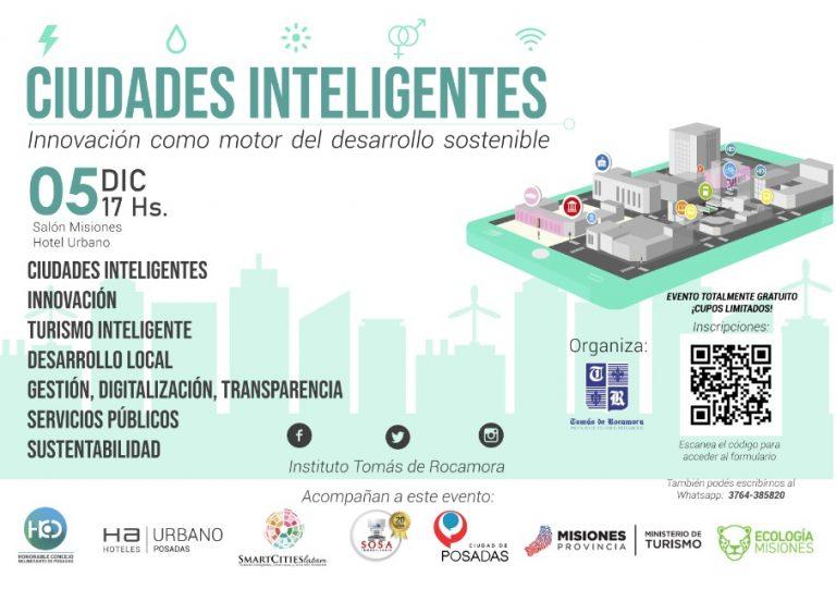 """El Instituto Tomás de Rocamora lanza conferencia sobre """"Ciudades Inteligentes"""""""