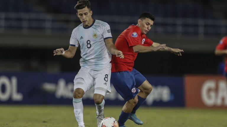 Preolímpico Sub 23: Argentina le ganó con tranquilidad a Chile