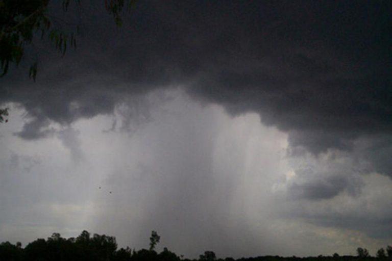 Aviso a corto plazo: alerta por tormentas en varios departamentos del centro y norte provincial