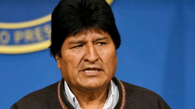 El Gobierno de Bolivia pidió a Interpol la captura de Evo Morales