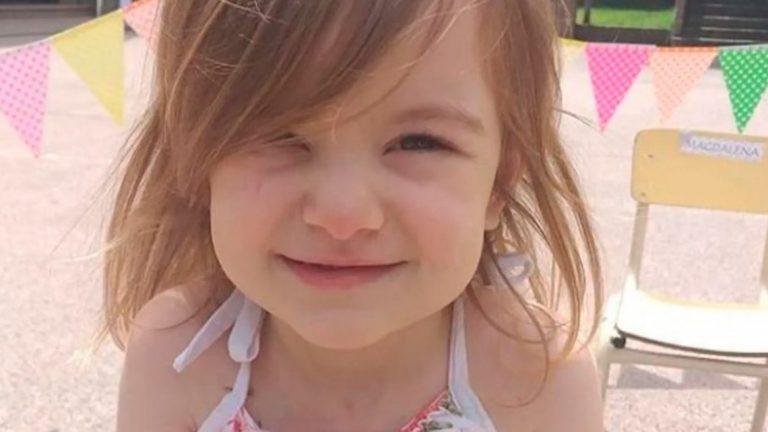 Lanzan una campaña en busca de donantes para una niña de 3 años