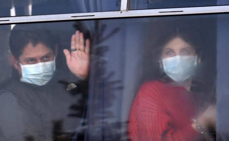 Coronavirus: llegaron a Ucrania los argentinos que vivían en China y quedaron en cuarentena