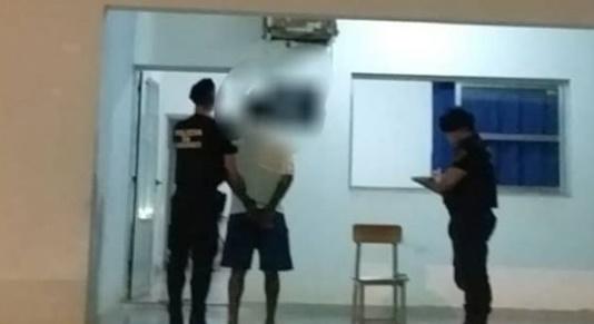 Campo Viera: amenazó de muerte a su pareja con un cuchillo y terminó detenido