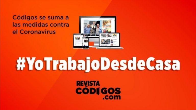 Emergencia sanitaria: Códigos se suma a #YoTrabajoDesdeCasa