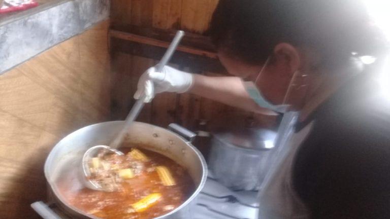 Comedores del PAS mantienen la elaboración de viandas ante el aislamiento