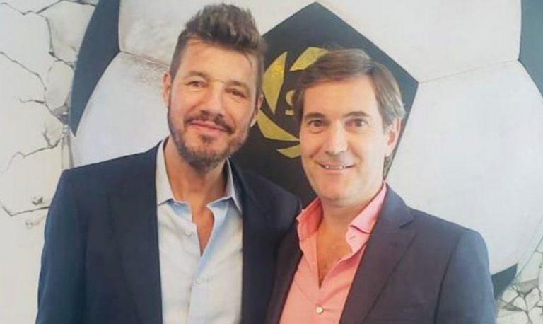 Marcelo Tinelli es el nuevo presidente de la Superliga y luego continuaría al frente de la Liga profesional