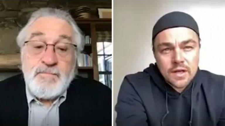 Coronavirus: increíble subasta de Robert De Niro y Leonardo DiCaprio para recaudar fondos