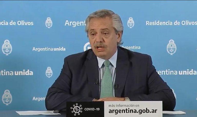 Extensión de la cuarentena: pico de 53,2 puntos de rating para el discurso de Alberto Fernández