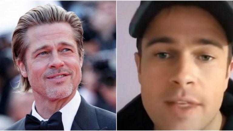 """El """"doble"""" Argentino de Brad Pitt que es furor en TikTok"""