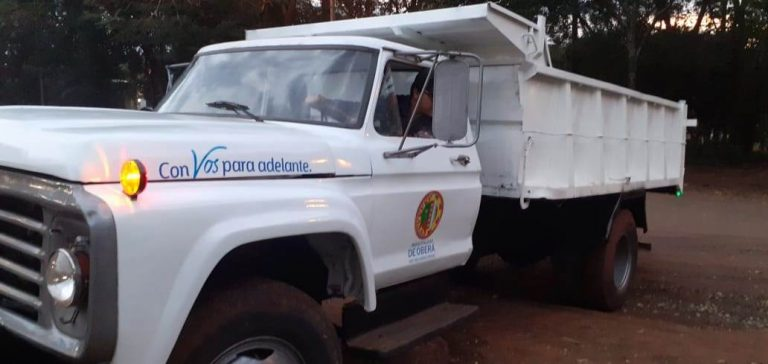Recuperaron vehículo para trabajos de poda en Oberá
