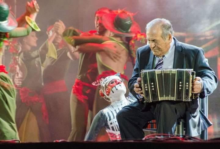 """Luto en la música regional: falleció Ricardo Ojeda, el """"Maestro"""" del bandoneón"""