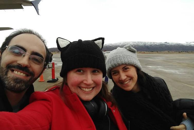 """""""Tripareja"""": la historia de Paula, Maite y Lucas que llevan una relación de a tres hace 3 años"""