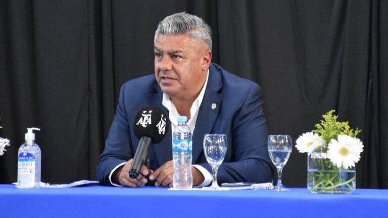 """Tapia, presidente de AFA: """"Es difícil pensar en una fecha exacta para el regreso del fútbol"""""""