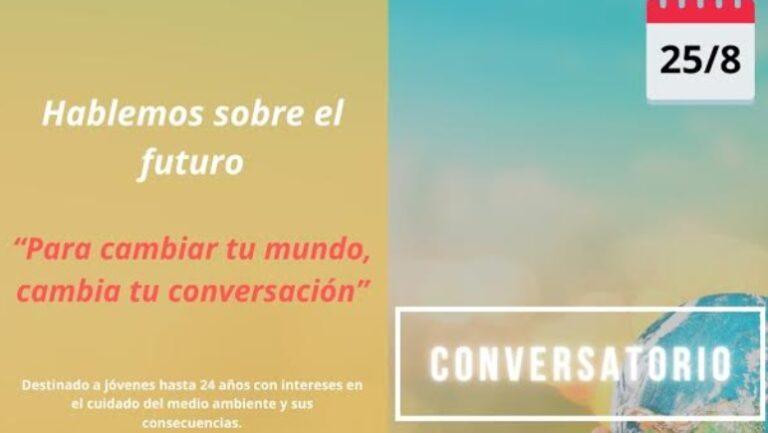 """""""Protagonista del Futuro"""" convoca a jóvenes a un conversatorio"""