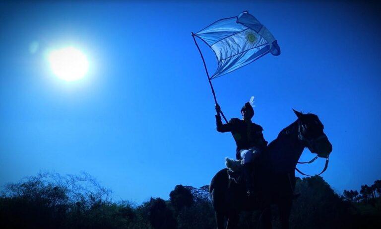 """Libertad con legado inmortal"": alumnos del NENI 2040 de San Pedro conmemoraron a San Martín"