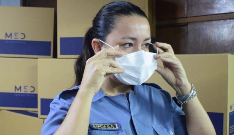 La Policía de Misiones adquirió 33 mil barbijos para los efectivos