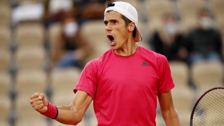 ¡Batacazo en Roland Garros!:  el argentino Federico Coria venció a Paire y avanzó a tercera ronda