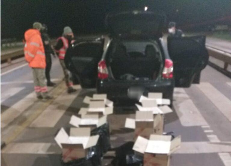 Alem: incautaron 600 gruesas de cigarrillos sin aval aduanero